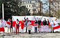 Белорусы зарубежья вышли на акции солидарности