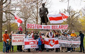Белорусы Бостона проводят акции 35 недель подряд