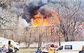 У Пецярбургу загарэўся будынак «Неўскай мануфактуры»