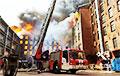 В Санкт-Петербурге продолжают тушить пожар на «Невской мануфактуре»