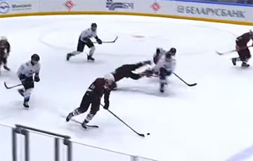 Lukashenka's Son Committed a Nasty Act During a Hockey Match