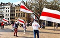 Белорусы Германии вышли в знак солидарности с земляками