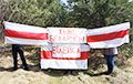 Белорусы продолжают гордо выходить с национальными флагами