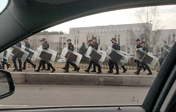 """The Ministry of Internal Affairs Called the Anomalous Activity of the Security Forces in the Capital """"Training"""""""