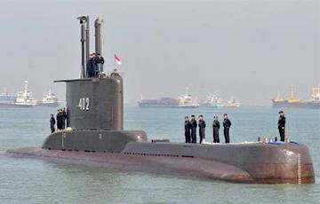 В Индонезии пропала подводная лодка с 53 моряками