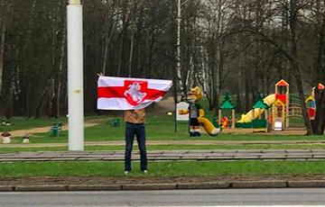 A Brave Minsk Resident Went to a Single Picket