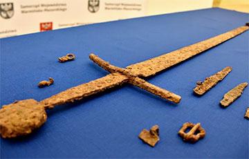 В Польше нашли уникальный меч воина Грюнвальдской битвы