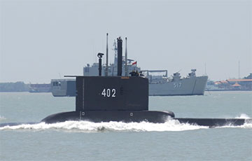 Исчезнувшая в Индонезии подводная лодка найдена на дне моря