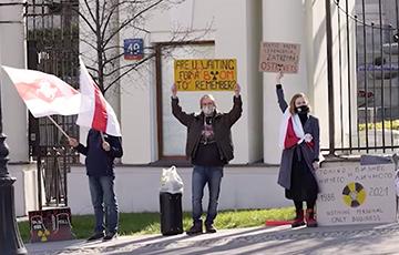 Белорусы Варшавы призвали ввести жесткие экономические санкции против официального Минска