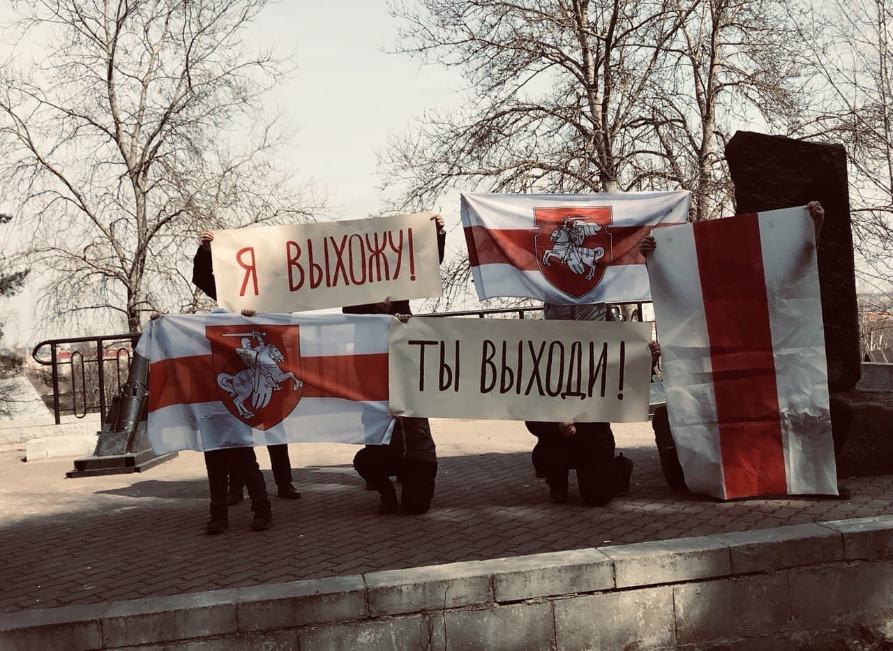 Смелые беларусы протестуют каждый день1