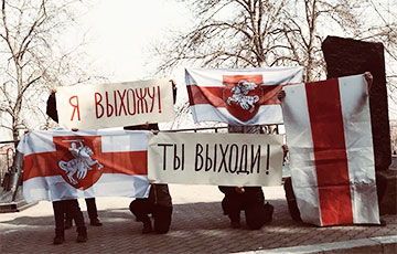 Смелые беларусы протестуют каждый день0
