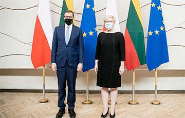 Премьеры Польши и Литвы заявили о поддержке Беларуси в борьбе за демократию и свободу