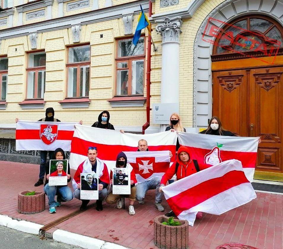 Белорусы Киева — судьям и прокурорам: Вам все вернется бумерангом1