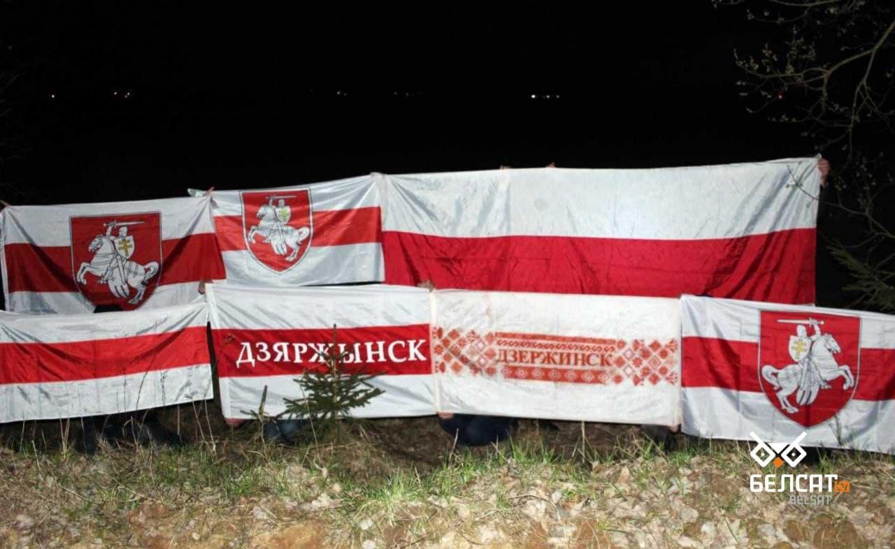 Акции протеста прошли в разных уголках Беларуси2
