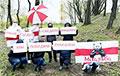 Жители Михалово с самого утра вышли на акцию в честь победы над фашизмом
