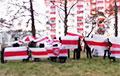 Боровляны вышли на субботний марш