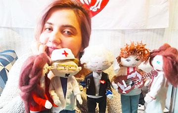 Автор кукол протестных героев Беларуси: Мы будем стоять друг за дружку горой