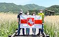 Белорусов поддержали в Южной Корее и пустыне Калахари