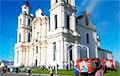 Пробашч парафіі паказаў, як выглядае касцёл у Будславе пасля пажару