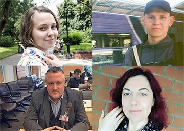 Belarusian Human Rights Defenders Awarded With Homo Homini Prize