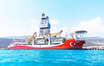Турцыя адпраўляе свідравыя судны на глыбакаводнае газавае радовішча ў Чорным моры