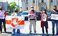 Беларусы Літвы выйшлі на акцыю ў падтрымку кіраўніка страйкаму «Беларуськалію»