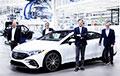В Германии стартовало производство самого роскошного электромобиля Mercedes