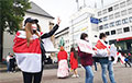 В Германии прошла яркая акция солидарности с белорусским народом