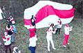 «Будем наш край освобождать!»: минчане со Спортивной провели яркую акцию