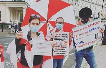 Белорусы Норвегии призывают компанию Yara прекратить сотрудничество с «Беларуськалием»