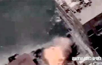 Израиль уничтожил подлодку террористов ХАМАС: видео