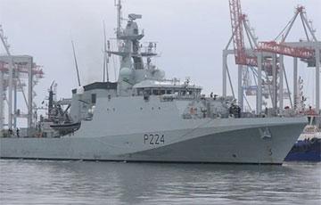 В порт Одессы зашел один из новейших кораблей британского флота