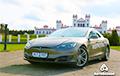 Как белорус решил съездить за дешевыми огурцами в Ольшаны на Tesla