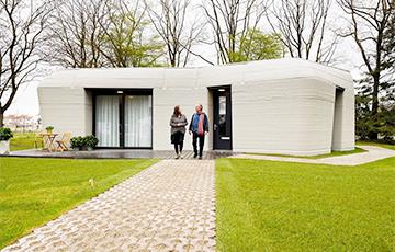 В Нидерландах заселили первый в Европе жилой дом, напечатанный на 3D-принтере