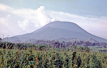 В Конго произошло извержение вулкана: видео0