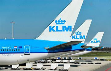 KLM приостановит полеты в воздушном пространстве Беларуси0