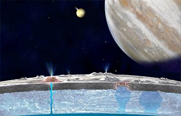 На спутнике Юпитера нашли признаки подводных термальных источников