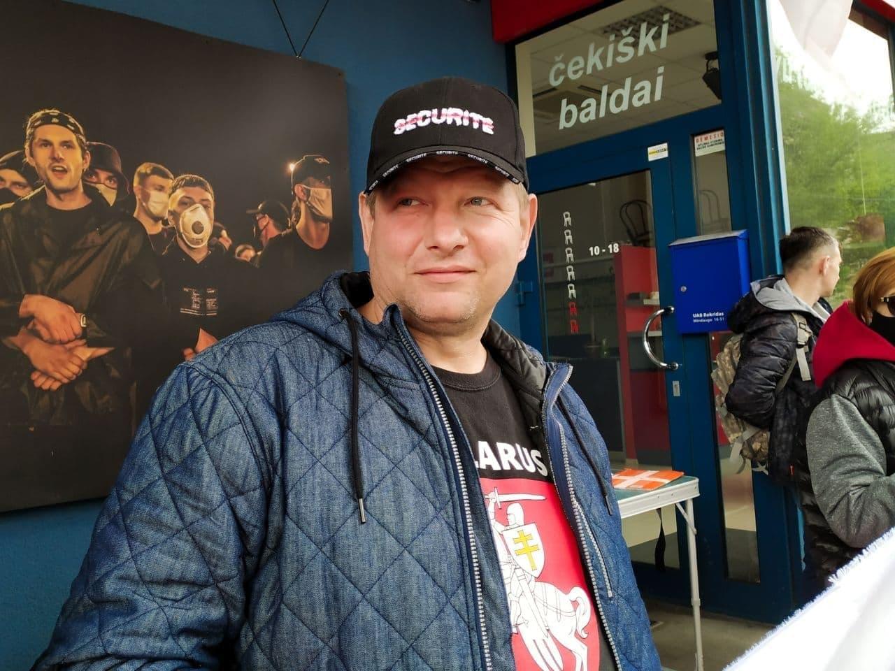В Вильнюсе прошла акция памяти Витольда Ашурка6