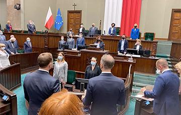 Сейм Польши принял новый закон о телерадиовещании