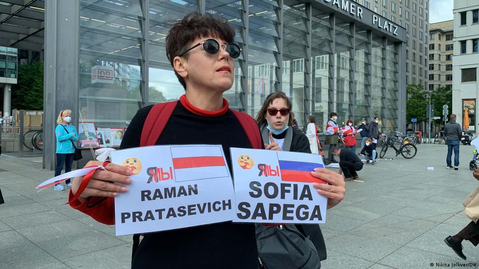 Белорусская диаспора в Берлине требует секторальных санкций против минского режима2