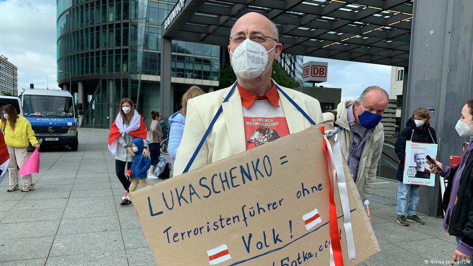 Белорусская диаспора в Берлине требует секторальных санкций против минского режима3