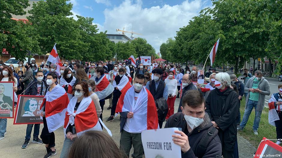 Белорусская диаспора в Берлине требует секторальных санкций против минского режима4