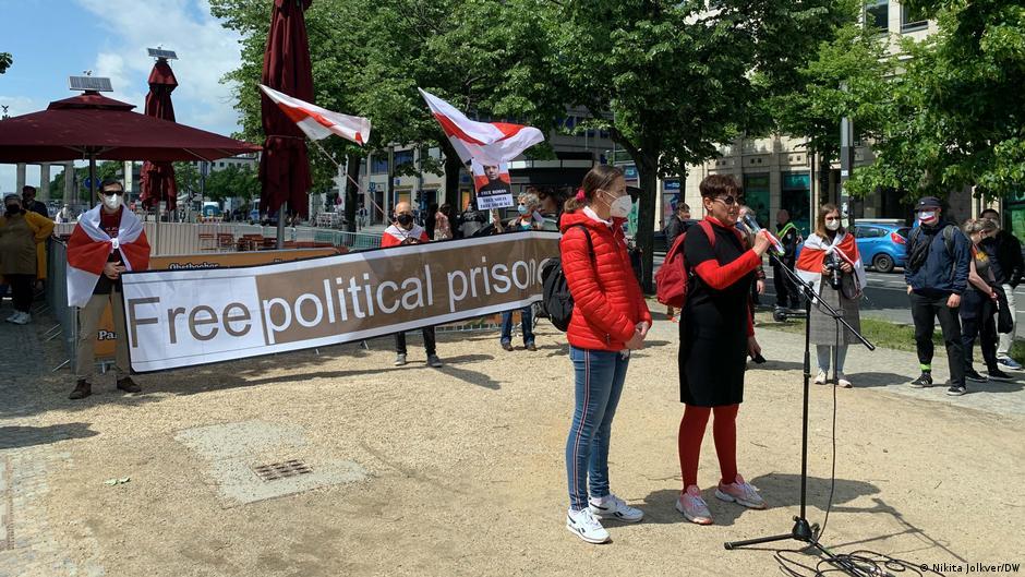 Белорусская диаспора в Берлине требует секторальных санкций против минского режима5