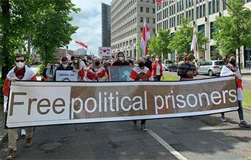 Белорусская диаспора в Берлине требует секторальных санкций против минского режима0