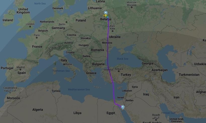 Как теперь летают самолеты из Минска в Хургаду и Стамбул1