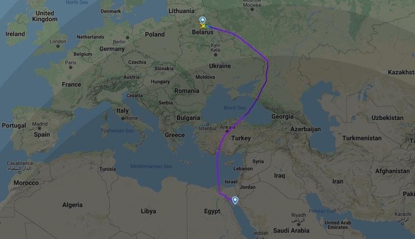 Как теперь летают самолеты из Минска в Хургаду и Стамбул2
