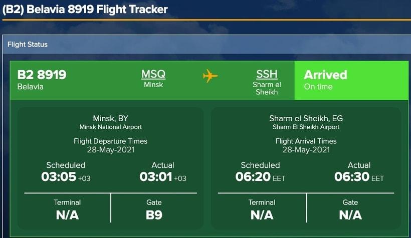 Как теперь летают самолеты из Минска в Хургаду и Стамбул4