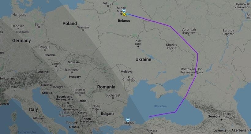 Как теперь летают самолеты из Минска в Хургаду и Стамбул8