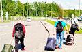 На белорусско-польской границе второй раз за неделю задержали большую группу мигрантов