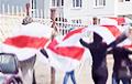 Партызаны Менска вышлі на вуліцу са смелым плакатам